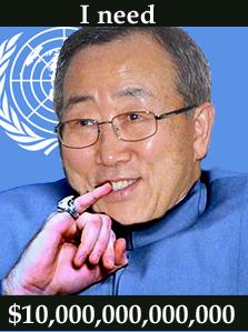 UN chief Ban (Dr. Evil) Ki-moon